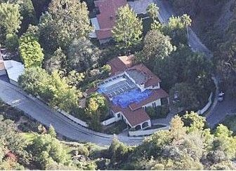 Scarlett Johansson'un Beverly Hills'teki evi